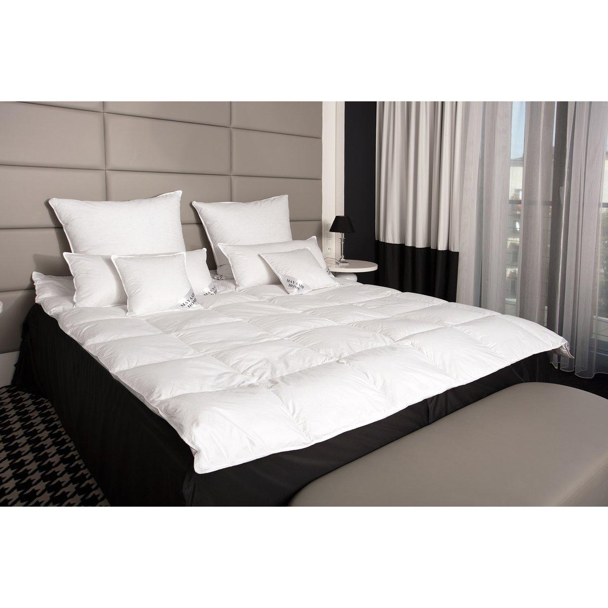 hs38 daunendecke bettdecke federn oberbett decke 70 daunen 155x220 62 90. Black Bedroom Furniture Sets. Home Design Ideas