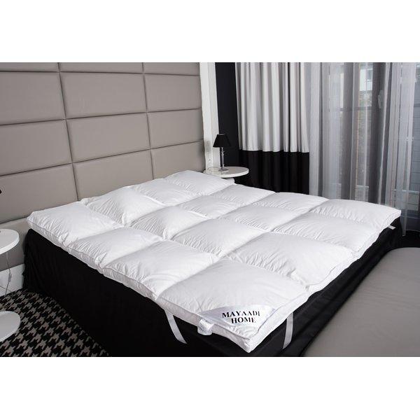 hs66 matratzenauflage topper unterbett 90 federn 10. Black Bedroom Furniture Sets. Home Design Ideas