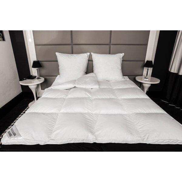 hs71 matratzenauflage topper unterbett 70 daunen 30. Black Bedroom Furniture Sets. Home Design Ideas