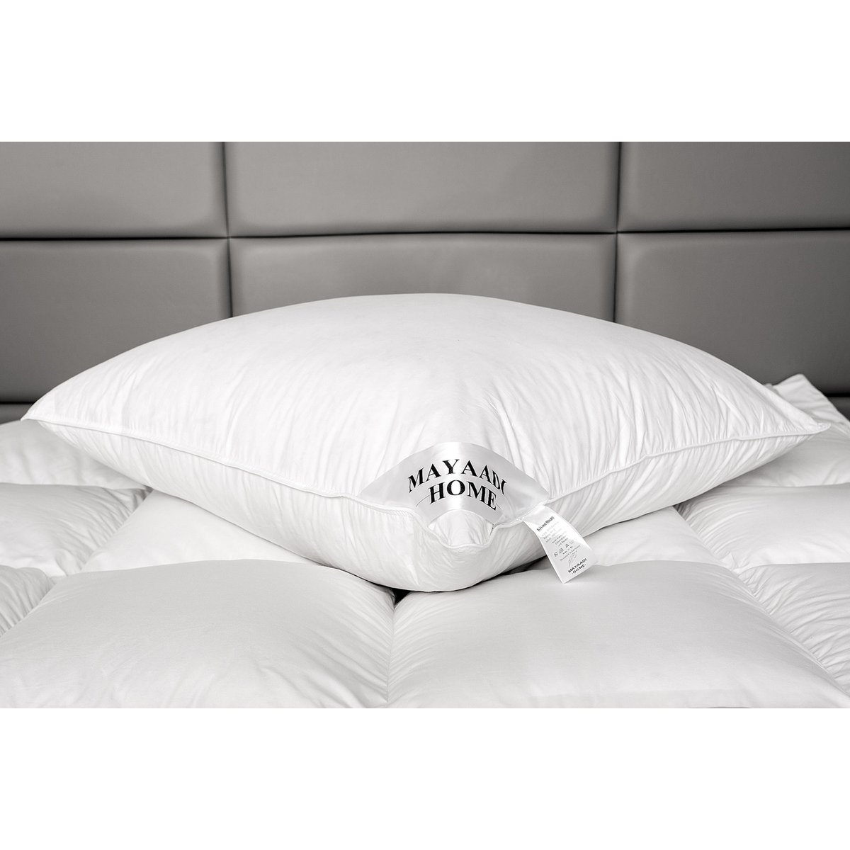 hs7 kopfkissen daunen 100 natur federn daunenkissen kissen 80x80 cm1 37 90. Black Bedroom Furniture Sets. Home Design Ideas