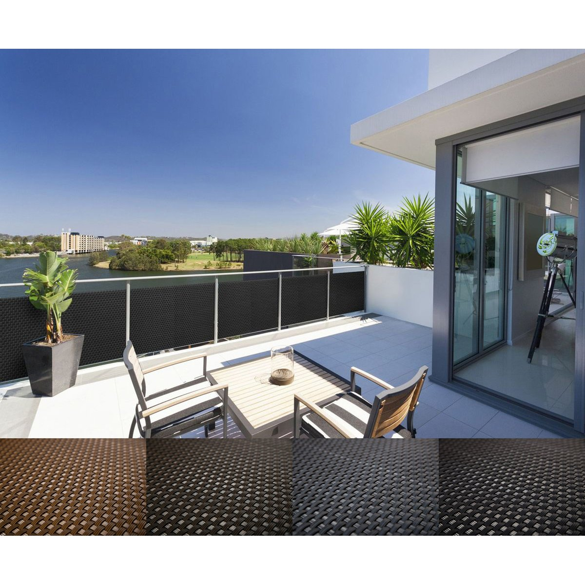 rattan balkon mayaadi home 17 90. Black Bedroom Furniture Sets. Home Design Ideas
