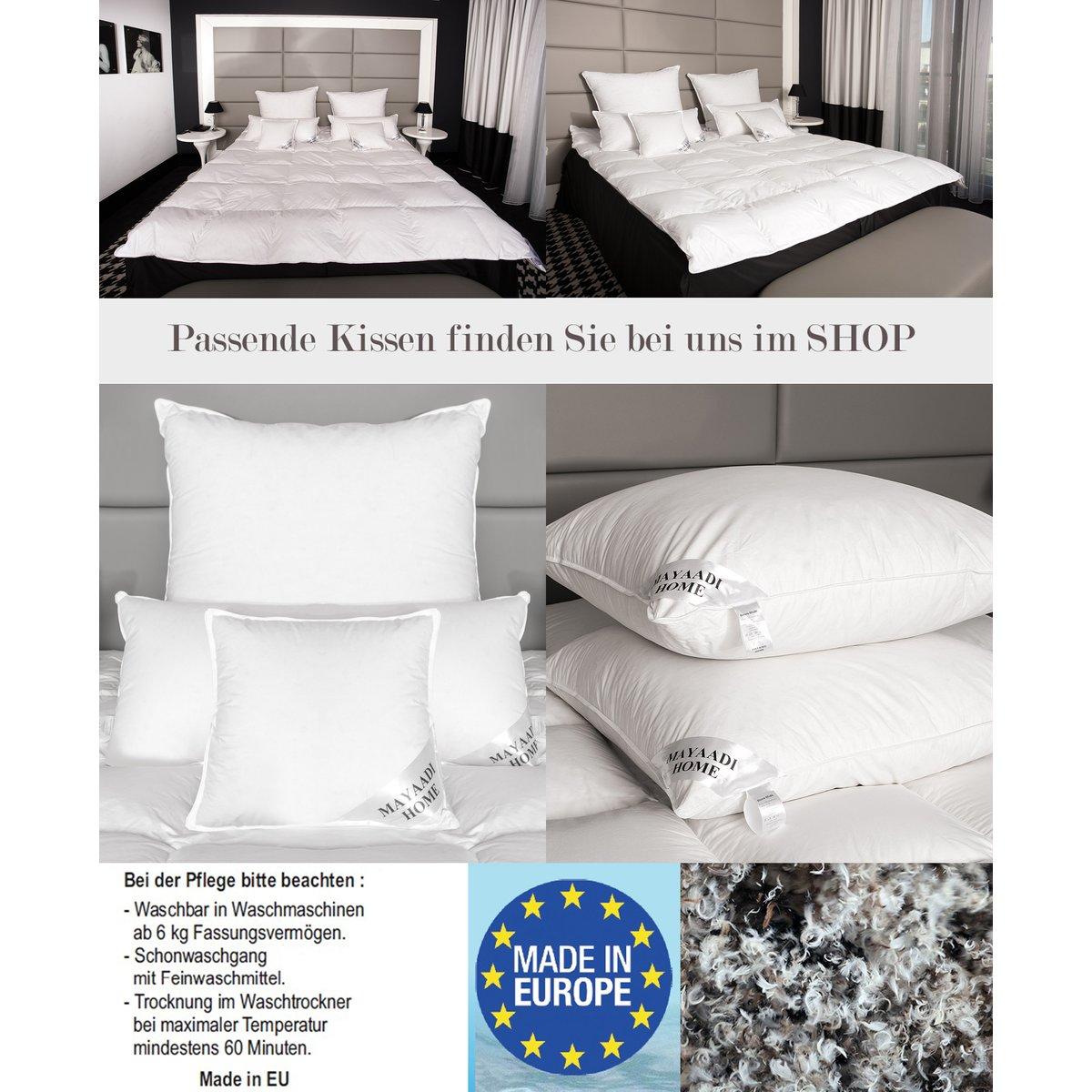 hs82 winter daunendecke bettdecke federn decke 15 daunen 200x220 26 74 90. Black Bedroom Furniture Sets. Home Design Ideas