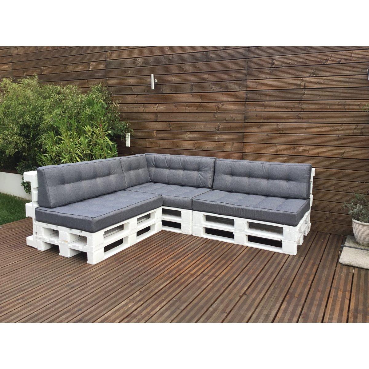 palettenkissen palettenauflage sitzkissen sofa euro paletten polster