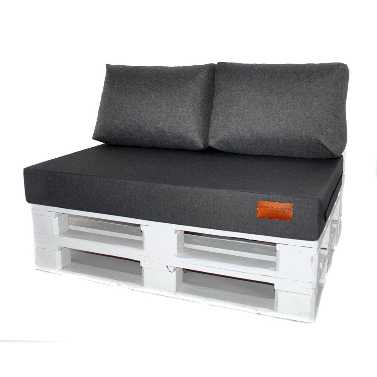 Polster paletten sofa outdoor for Polster fur palettensofa