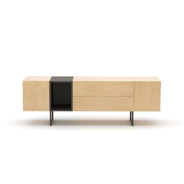 Kommode Sideboard Lowboard Anrichte Wohnzimmer Tv Schrank Holz Abato