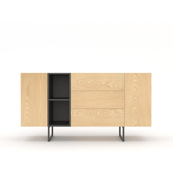 kommode sideboard lowboard anrichte wohnzimmer tv schrank. Black Bedroom Furniture Sets. Home Design Ideas