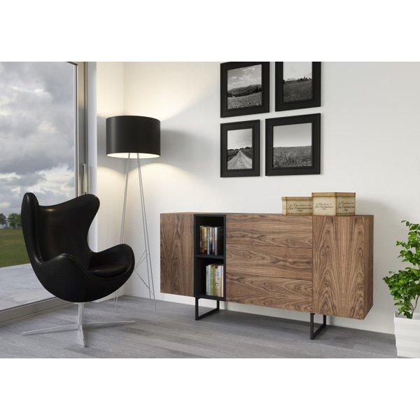 Kommode Sideboard Lowboard Anrichte Wohnzimmer Schrank Holz ABATO-17 ...