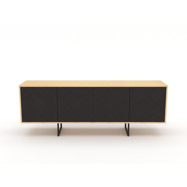 Kommode Sideboard Highboard Anrichte Wohnzimmer Schrank Mobel Holz