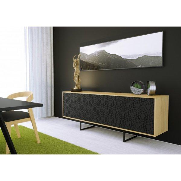 Wohnzimmer Schrank | Kommode Sideboard Lowboard Anrichte Wohnzimmer Schrank Holz Abato Fx
