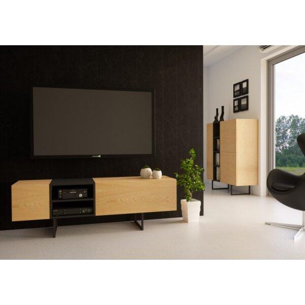 rtv regal sideboard lowboard anrichte wohnzimmer tv schrank abato rt 574 90. Black Bedroom Furniture Sets. Home Design Ideas